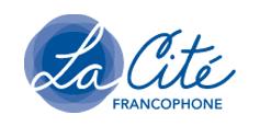 La Cité francophone